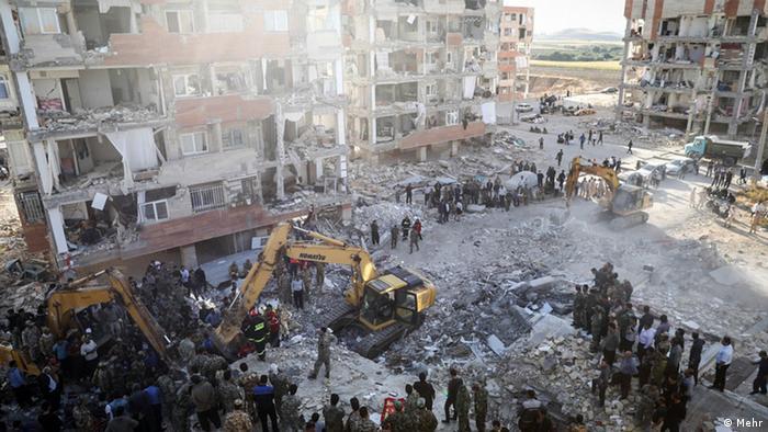 Iran Erdbeben, Kermanshah (Mehr)
