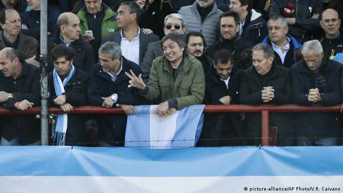 Argentinien Maximo Kirchner (picture-alliance/AP Photo/V.R. Caivano)