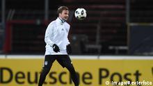 Training Fußball Nationalmannschaft am 12 11 2017 im Südstadion in Köln Mario Götze Deutschland