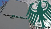 Collage aus HRE-Logo und Bundesadler