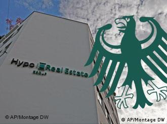 Das Logo der Hypo Real Estate (Foto: AP)