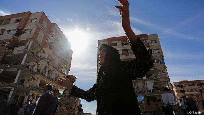 Erdbeben im Iran 2017 (Tasnim)