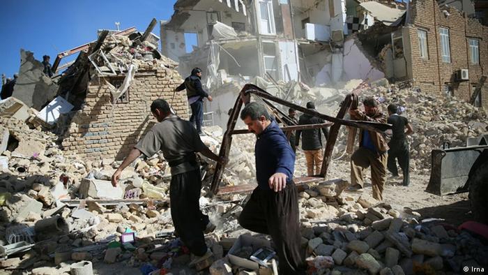 Erdbeben im Iran 2017