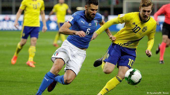 WM Quali Playoffs Italien vs. Schweden (Reuters/M. Rossi)