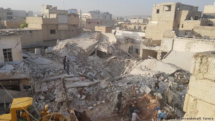 Aleppo en ruinas, Siria (picture-alliance/abaca/E. Karaca)