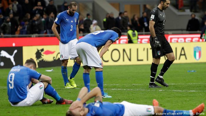 WM Quali Playoffs Italien vs. Schweden