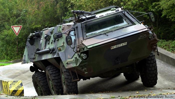 تانک شناسایی آلمانی، صادرشده به عربستان سعودی