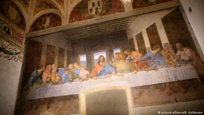 Leonardo da Vinci - The Last Supper (picture-alliance/R. Goldmann)