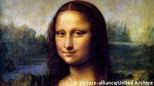 Leonardo da Vinci Mona Lisa (picture-alliance/United Archive)