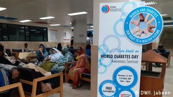 Pakistan Islamabad Welt-Diabetes-Tag
