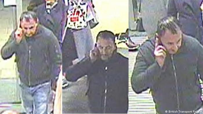 Police have released CCTV images of a man they wish to speak to as part of their investigation (British Transport Police)