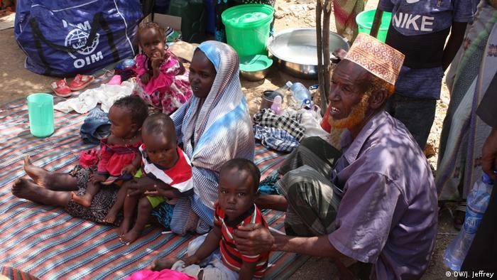Binenvertriebene in Äthiopien