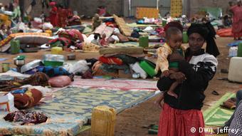 Äthiopien Flüchtlinge vor ethnischer Gewalt