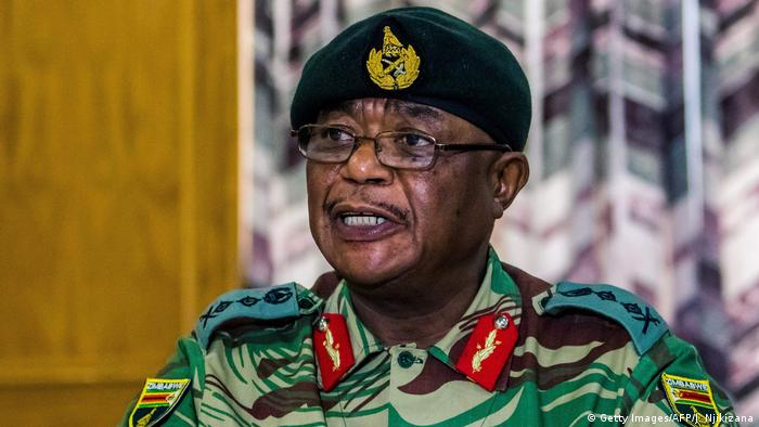General Constantino Chiwenga (Getty Images/AFP/J. Njikizana)