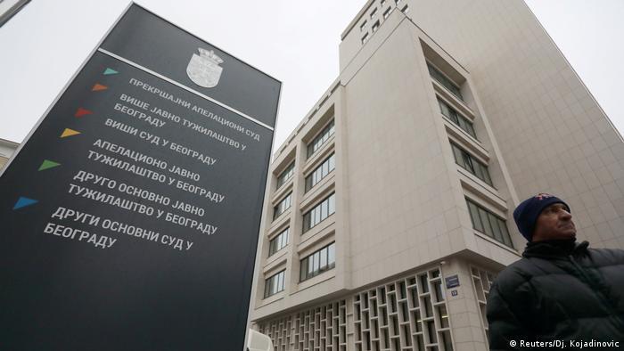 Serbien Gerichtsprozess in Belgrad zum Angriff auf die US Botschaft 2008