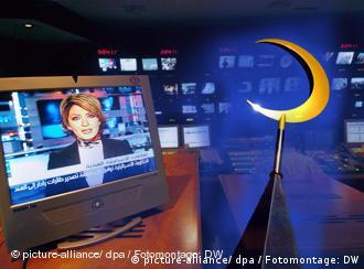 Symbolbild Islam in den Medien (Foto: dpa/Montage: DW)