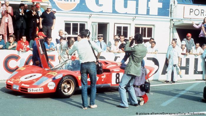 Кадр з фільму Ле-Ман з Ferrari 512 S