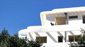 Renoviertes Gebäude im Bauhausstil am Dizengoff Square, Tel Aviv, Foto: Rottscheidt/ DW