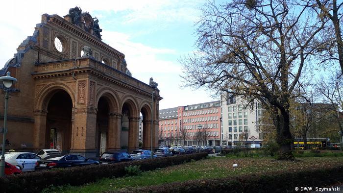 Rozpatrywane miejsce budowy pomnika polskich ofiar wojny - Plac Askański w Berlinie
