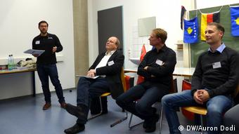 Moment diskutimi: Matthias Bickert, Michael Schmidt-Neke, Thede Kahl, Henry Ludwig
