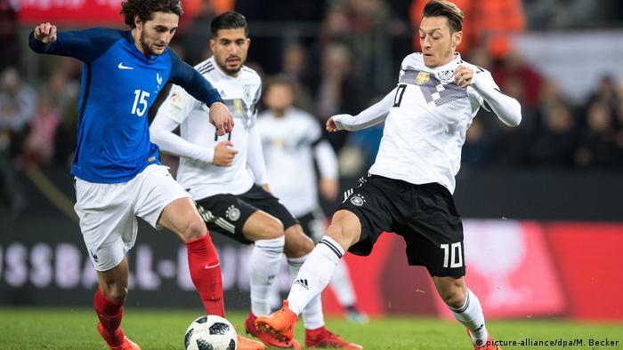 Fußball Köln Länderspiel D vs Frankreich
