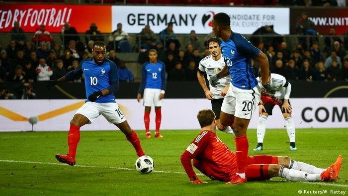Fußball TICKET 14.11.2017 Deutschland Frankreich in Köln Sammeln & Seltenes