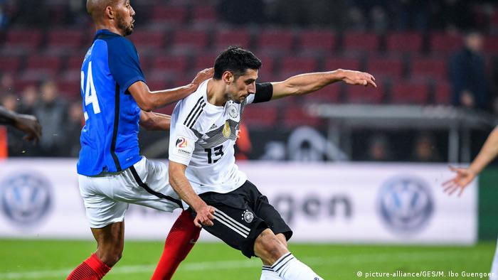 Fußball Länderspiel Deutschland vs Frankreich | Tor