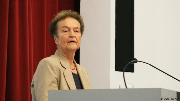 Ex-ministra alemã questiona politização da Justiça no Brasil