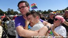 Australien Australier stimmen für die gleichgeschlechtliche Ehe