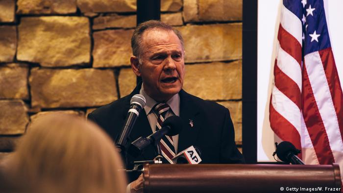 USA Abgeornete Roy Moore in Alabama (Getty Images/W. Frazer)