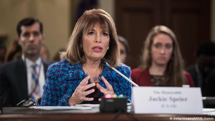 USA Abgeordente Jackie Speier (Getty Images/AFP/N. Kamm)