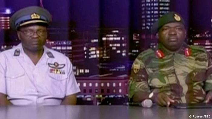 Simbabwe Generalmajor Sibusiso Moyo