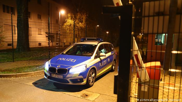 Deutschland Brand in Asylunterkunft in Bamberg (picture-alliance/dpa/D. Karmann)