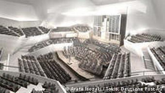 Deutschland Architektur Bonn Beethovenhalle Entwurf von Arata Isozaki