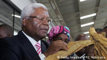 Finanzminister Ignatius Morgan Chombo (Foto: Getty Images/AFP/J. Njikizana)