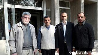 Hamid Baghaei Sitzstreik (dolatebahar.com )