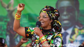Simbabwe Machtkampf Grace Mugabe
