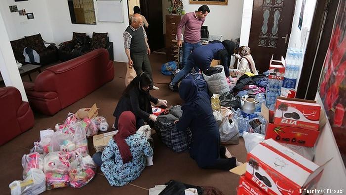 Iran Spendenaktion Erdbeben