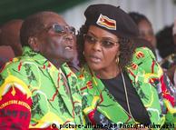 Роберт Мугабе та його дружина Грейс
