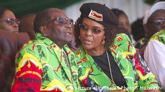 Zimbabwe Mugabe Rally (picture-alliance/AP Photo/T.Mukwazhi)