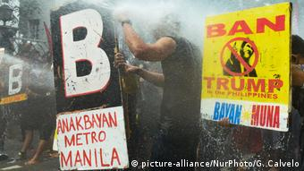 Philippinen ASEAN Protest (picture-alliance/NurPhoto/G. Calvelo)