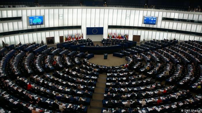 Europäisches Parlament beschließt Resolution über die Empfehlung zur Östlichen Partnerschaft (DW/I.Sheiko)