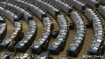 Не всі євродепутати досиділи до кінця дебатів, які тривали майже дві години