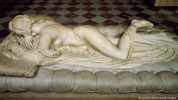 Griechenland Kunst Schlafender Hermaphrodit