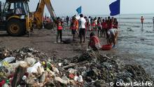 Indien Beach clean-up, Mumbai