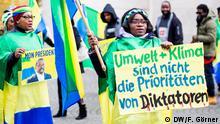 UN-Klimakonferenz 2017 in Bonn | Protest Gabun Diktatur