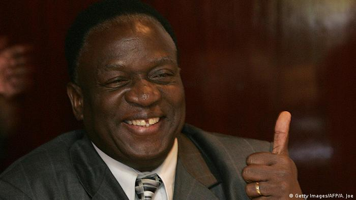 Emmerson Mnangagwa Politiker aus Simbabwe (Getty Images/AFP/A. Joe)