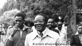 Präsident Robert Mugabe in Simbabwe