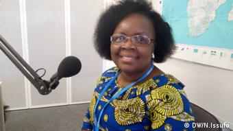 Gilda Monjane, unternehmungslustig aus Mosambik