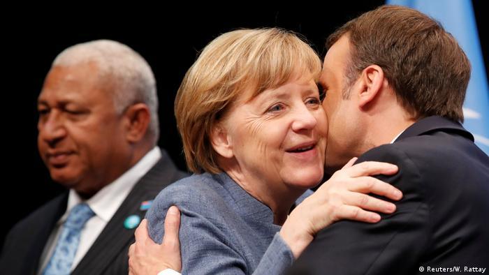 UN-Klimakonferenz 2017 in Bonn | Merkel & Macron